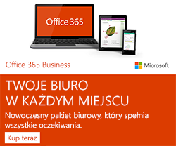 Promocja na Office 365 Business dla Firm
