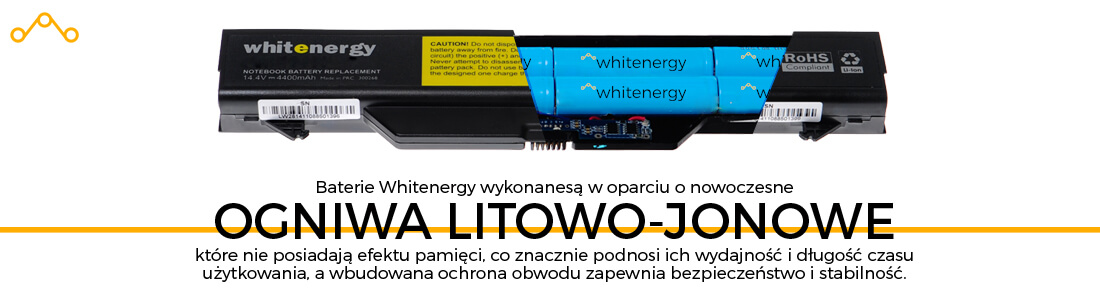 Bateria do laptopa Dell - Ogniwa Whitenergy