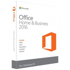 Zestaw 10+1 x Microsoft Office Home and Business 2016 PL tylko dla DELL