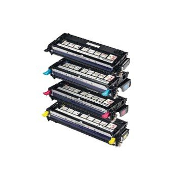 Toner Dell H825/S2825 Series Extra High Yield Yellow Toner Cartridge, 4,000 pages