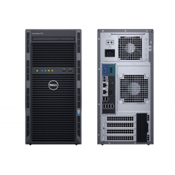 Zestaw serwer DELL PowerEdge T130 E3-1220v6 16GB 3x 1TB SATA 3,5'' S130 DVD-RW 3yNBD + Windows Server 2016 Essentials