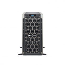 Serwer DELL PowerEdge T340 Intel Xeon E2234 Chassis 8 x 3.5 HotPlug 16GBub 1x480GB SSD Casters Bezel DVD RW PERC H330 iDRAC9 Exp Redundant 495W 3y