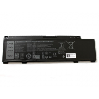 Bateria Dell 3-cell 51Wh M4GWP