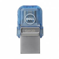 Pendrive DELL 64GB USB A/C Combo Flash Drive