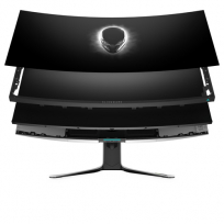 Monitor DELL AW3821DW Alienware 37.5 WQHD+ IPS Lunar Light 3YAES 3YPPG