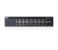 Switch Dell Networking X1018P 16 portów 1GbE PoE i 2 porty SFP 1GbE