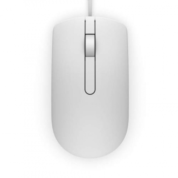 Mysz Dell MS116 Wired Optical Mouse biała