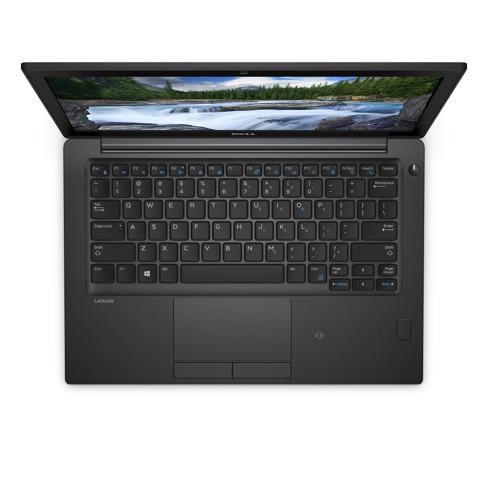 Laptop DELL Latitude 7290 12,5'' HD i5-8350U 8GB 256GB SSD LTE BK FPR SCR vPro Win10Pro 3YNBD