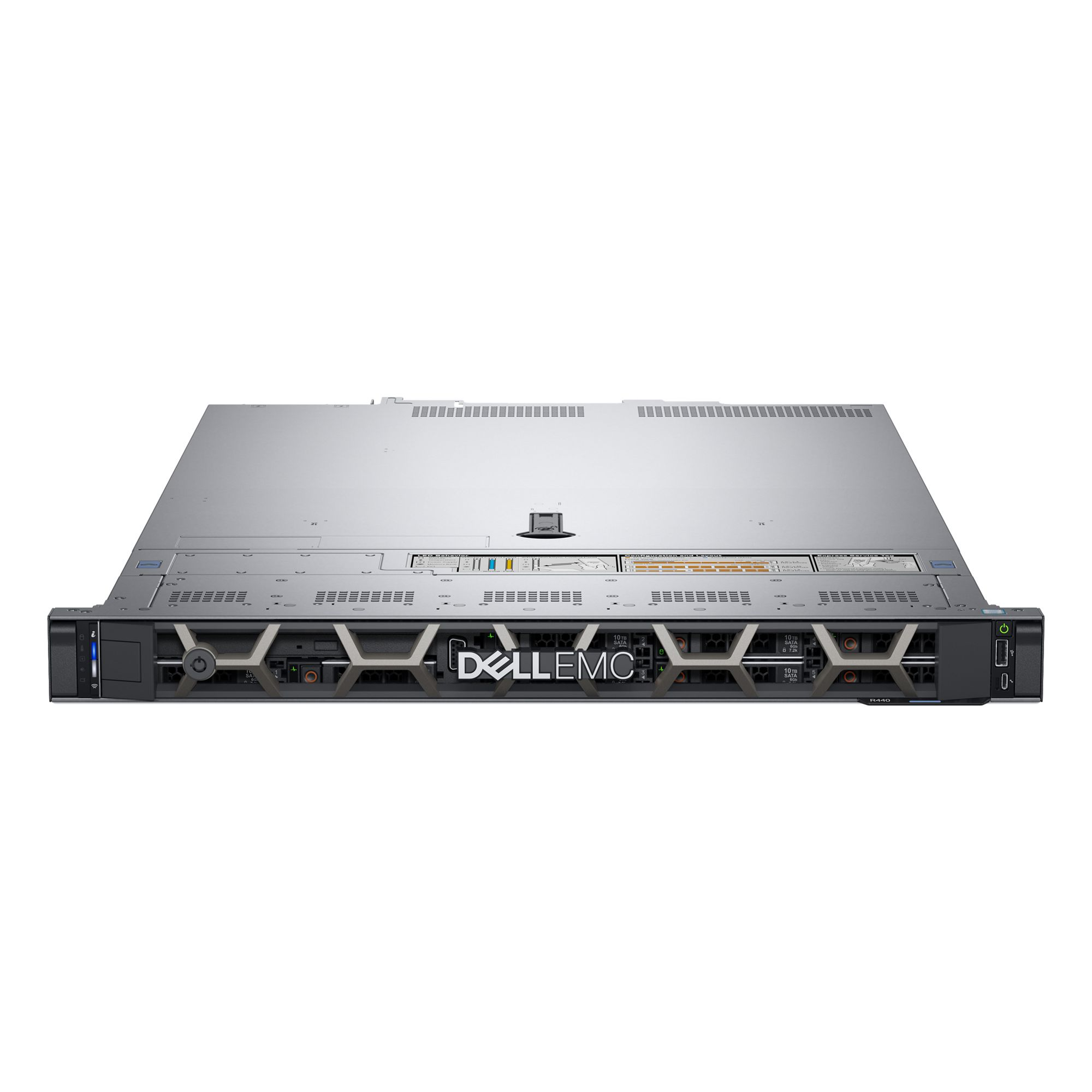 Serwer DELL PowerEdge R440 Silver 4208 16GB 240GB SSD H330 550W 3yNBD