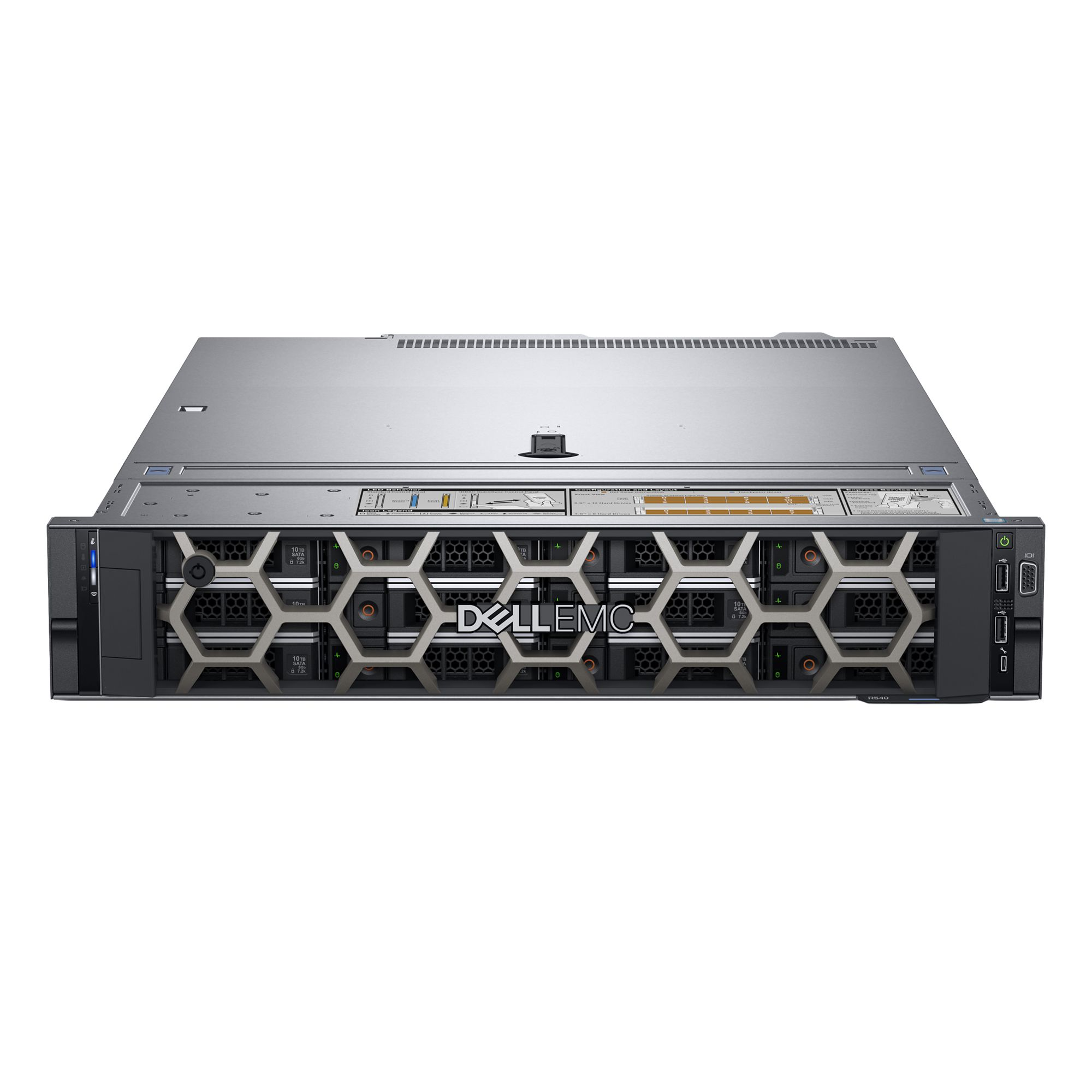 Serwer DELL PowerEdge R540 XS 4208 16GB 240GB SSD H730P iDRAC Bas. single 450W 3yNBD