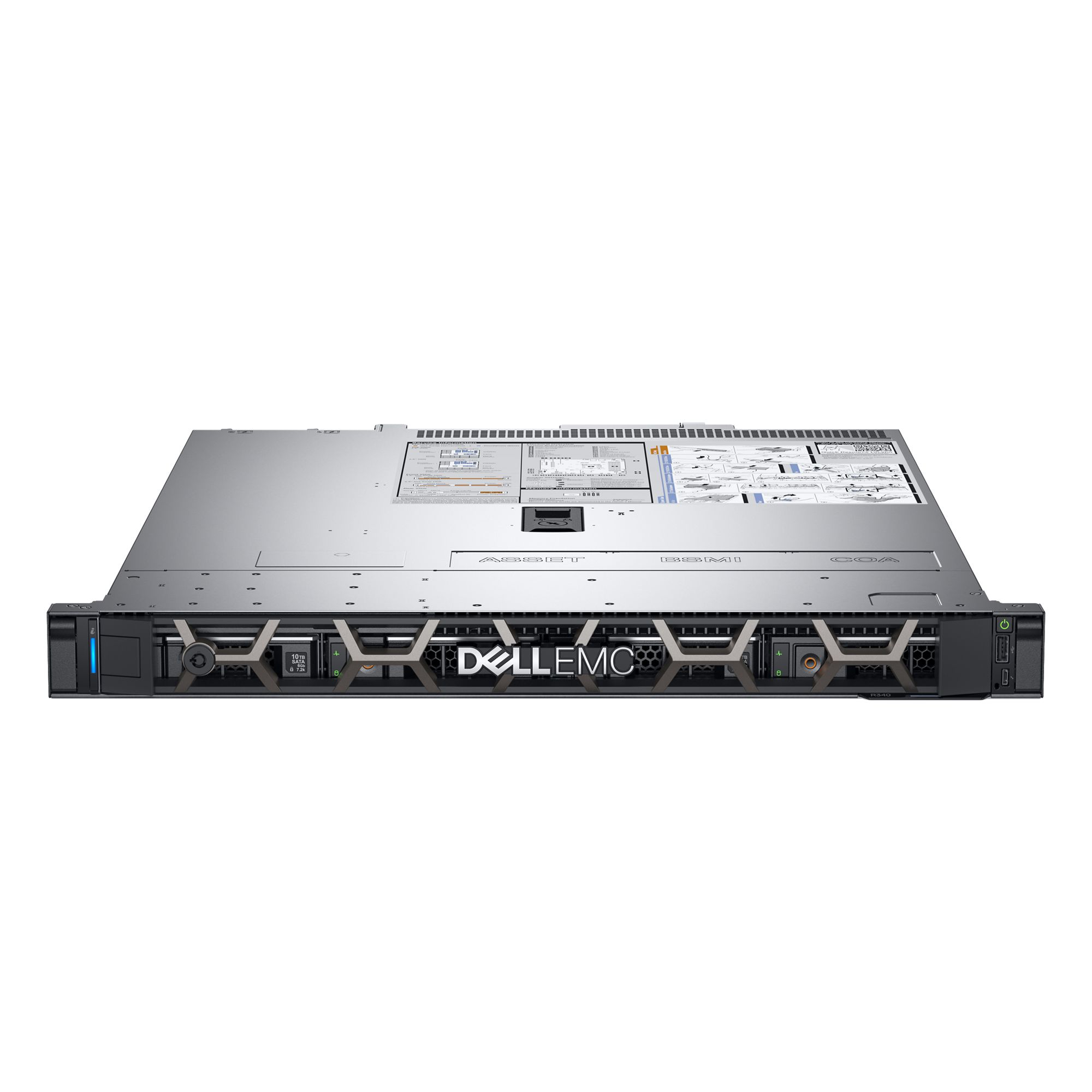 Serwer DELL PowerEdge R340 E-2124 8GB 300GB 15k HP H330 DVD-RW 1x350W 3yNBD