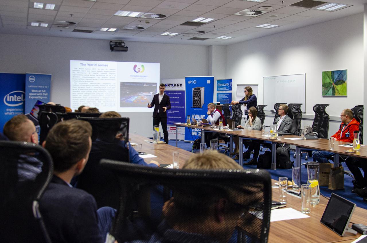 konferencja dell i netland w Łodzi - fabryka Dell - bezpieczeństwo