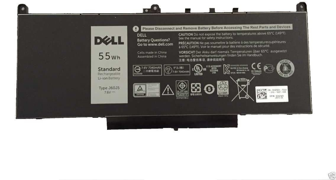 Bateria Dell 4-Cell 55Wh LITH LGC 242WD