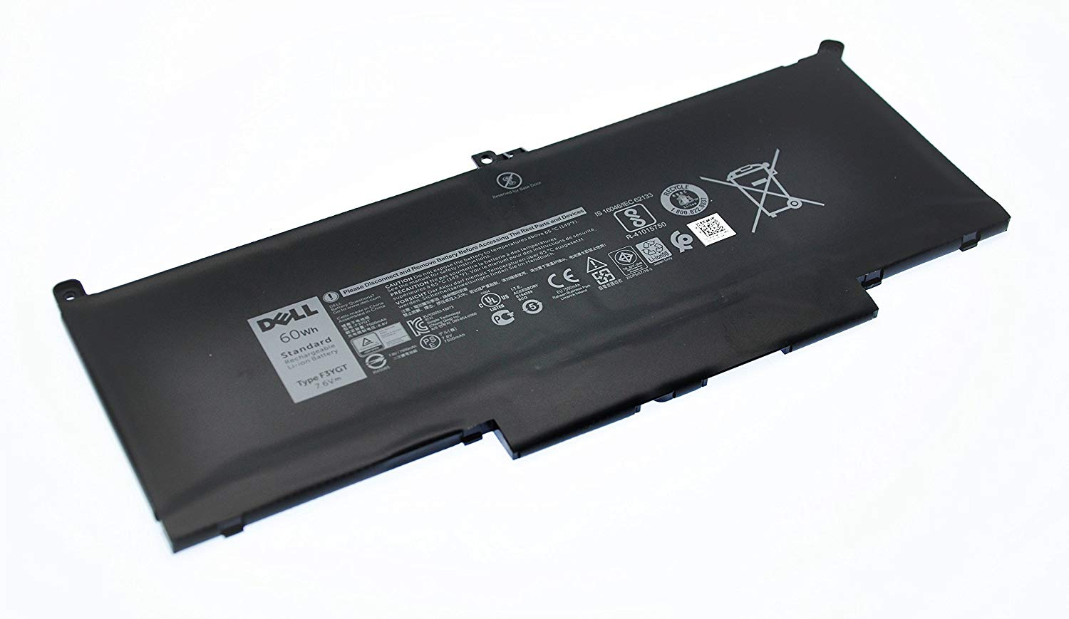Bateria Dell 4-Cell 60Wh 2X39G