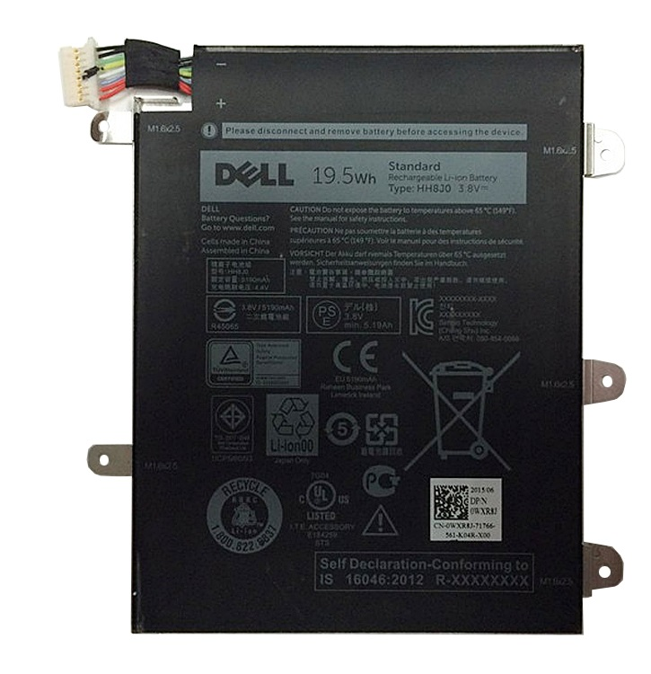Bateria Dell 1-Cell 19.5Wh WXR8J