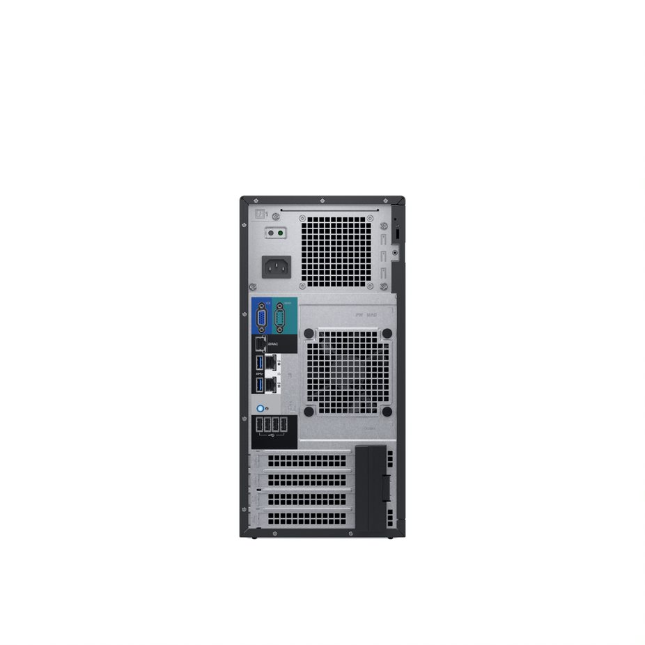 Zestaw serwer DELL PowerEdge T140 E-2136 1x16GBub 1TB SATA 3,5 cabled H330 DVD-RW 3yNBD + Windows Server Essential 2019