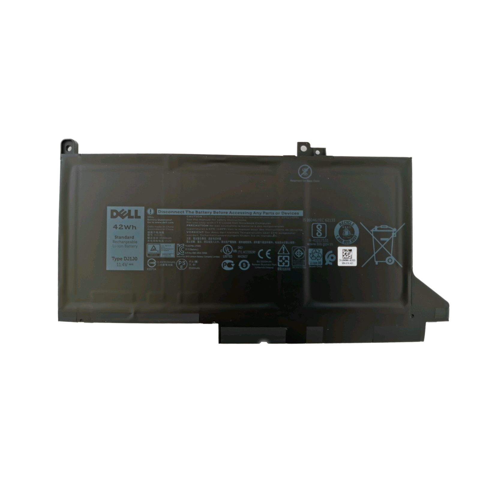 Bateria Dell 3-Cell 42WH 9W9MX