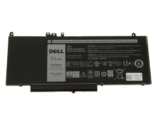 Bateria Dell 4-Cell 51WH YM3TC