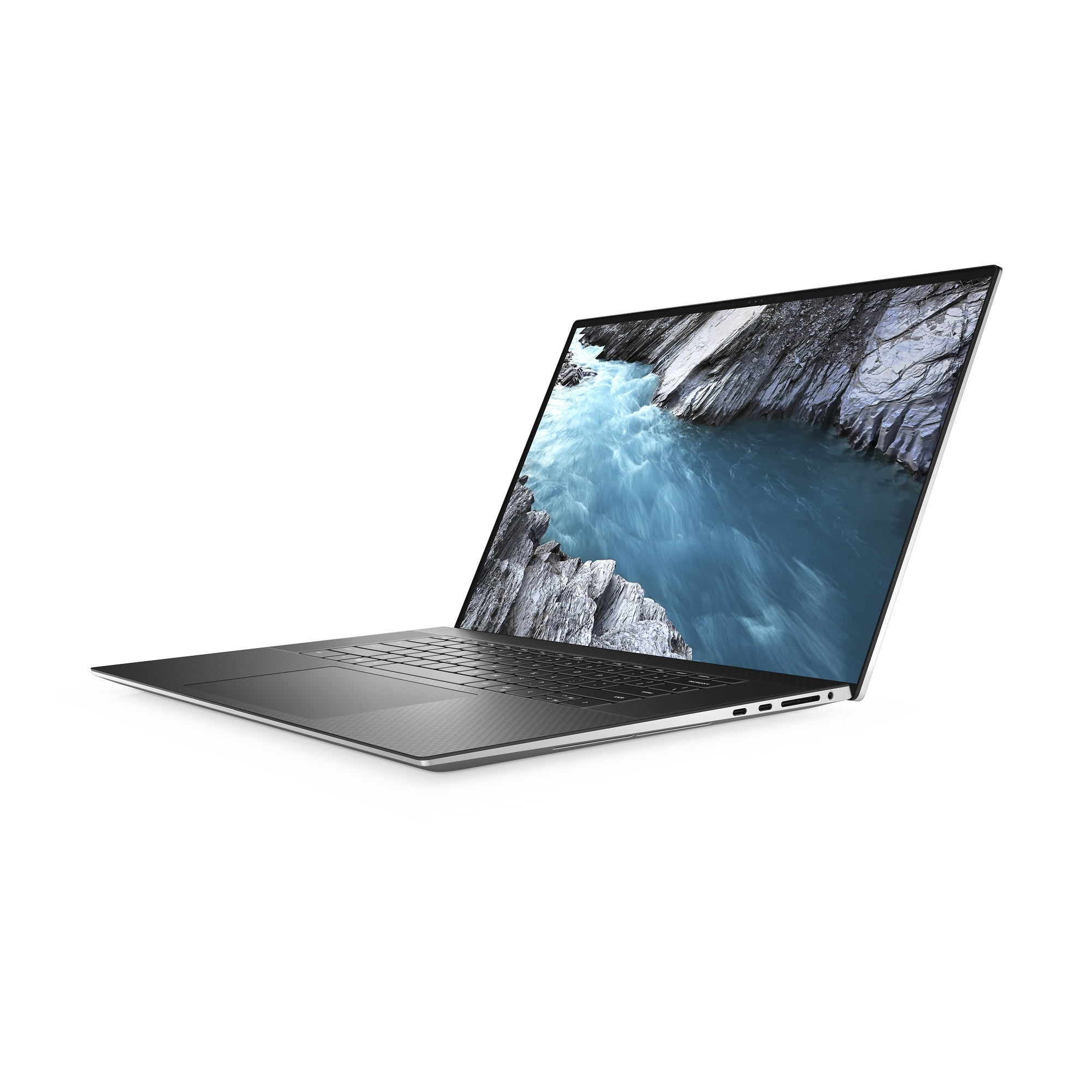 Laptop DELL XPS 17 9700 UHD+ Touch i9-10885H 64GB 2TB RTX2060 FPR BK W10P 3YBWOS srebrny