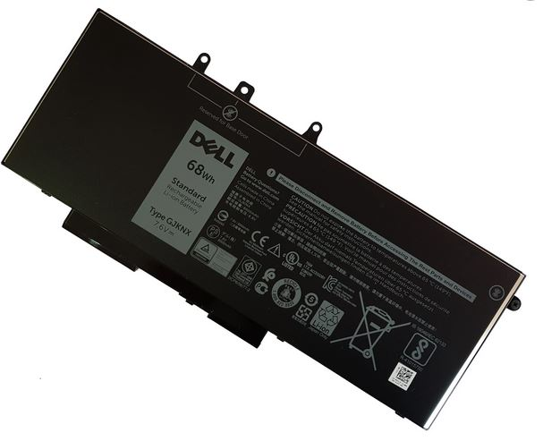 Bateria Dell 4-cell 68Wh JG75F