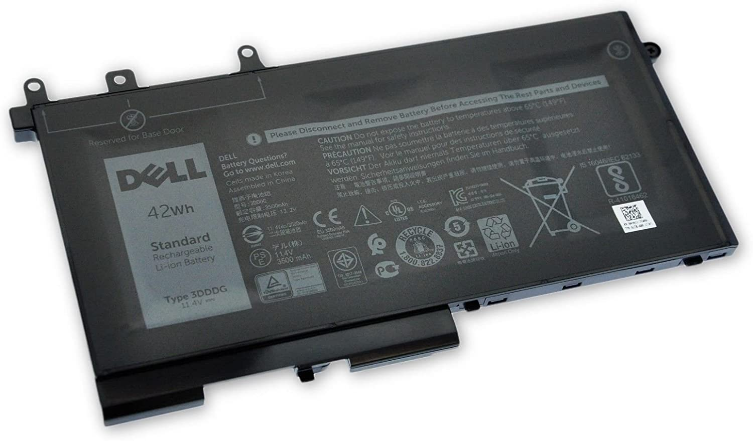 Bateria Dell 3-Cell 42WH 45N3J