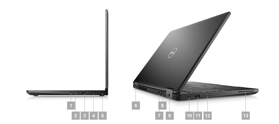 Laptop Dell Latitude 5590 porty