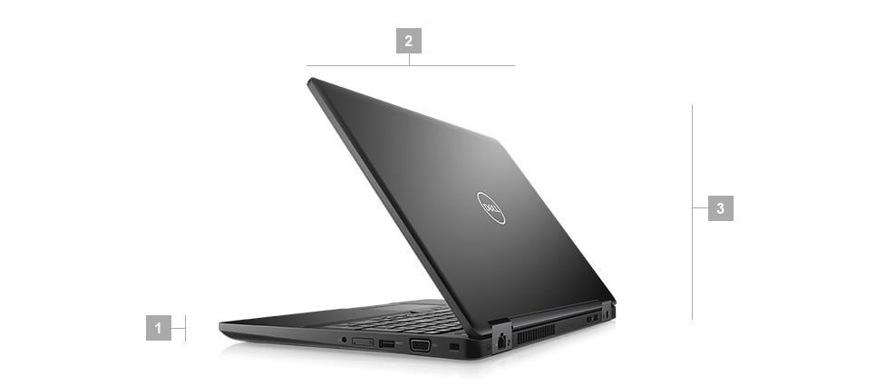 Laptop biznesowy Dell Latitude 5590 wymiary