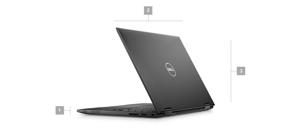 Laptop Dell Latitude 3390 2w1 hybryda - obudowa
