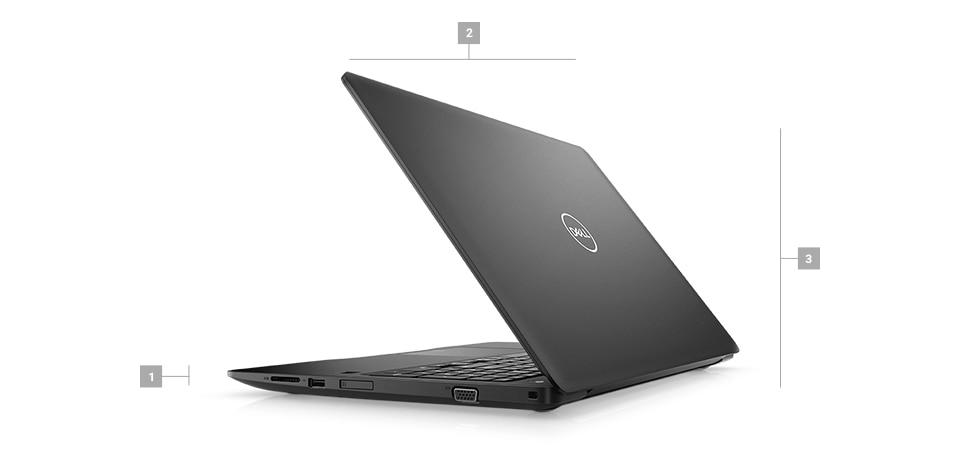 Laptop Dell Latitude 3590 - wygląd zewnętrzny i obudowa