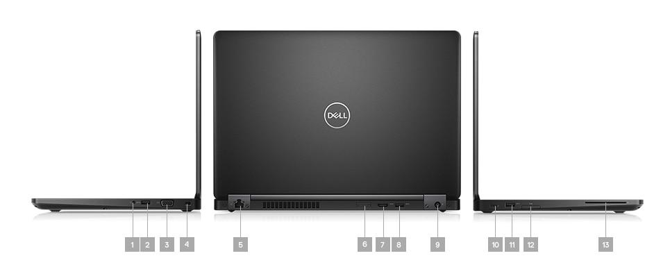 Laptop Dell Latitude 5490 - porty rozszerzeń