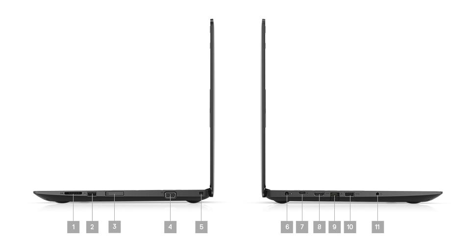 Laptop Dell Latitude 3590 - porty rozszerzeń